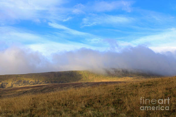 Wall Art - Photograph - Mist Over The Hills East And South Of The Ribblehead Viaduct by Louise Heusinkveld