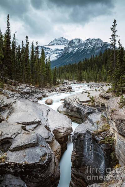 Wall Art - Photograph - Mistaya Canyon, Banff National Park, Canada by Matteo Colombo
