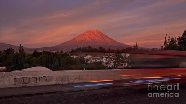 Photograph - Misti Volcano In Arequipa, Peru, South America by Sam Antonio Photography