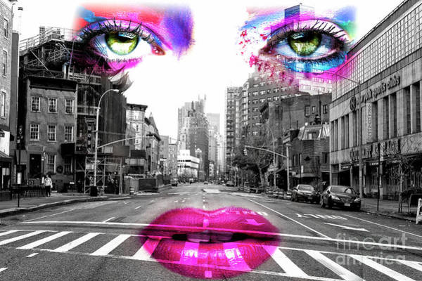 Photograph - Mistress Of 7th Avenue New York City by John Rizzuto