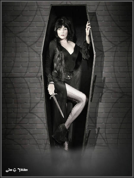 Photograph - Mistress Of The Dark by Jon Volden