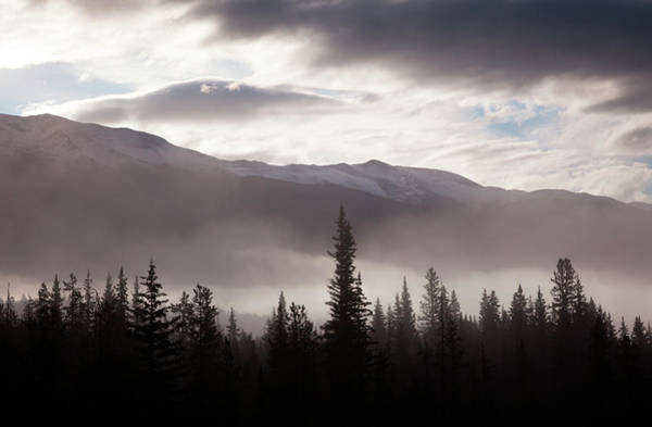 Art In Canada Photograph - Misty Conditions Over The Landscape And by Mint Images/ Art Wolfe
