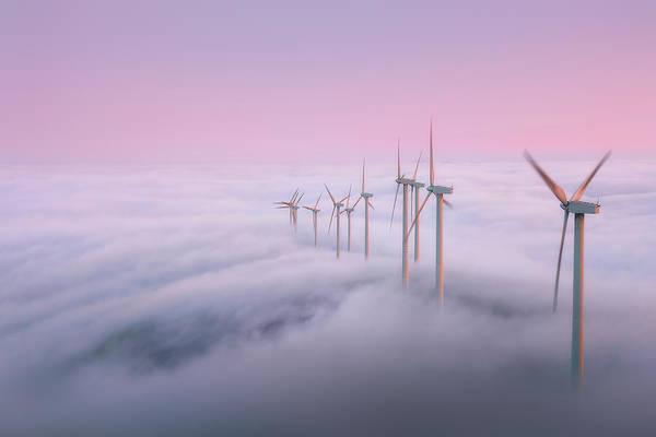 Photograph - Misty Evenings On Oiz Mountain by Mikel Martinez de Osaba