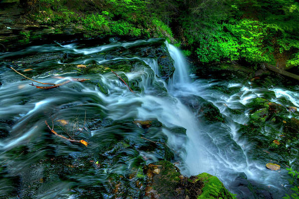 Wall Art - Photograph - Misty Falls - 2976 by Paul W Faust -  Impressions of Light