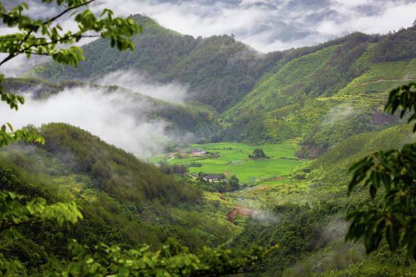 Photograph - Misty Farm I by William Dickman