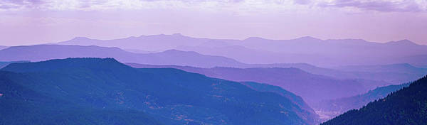 Photograph - Misty Hills And Valleys Flowing From Mount St. Helens  by Steve Estvanik