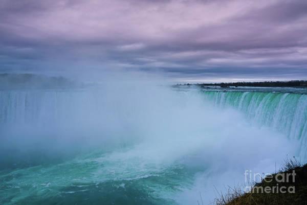 Photograph - Misty Horseshoe Falls by Rachel Cohen