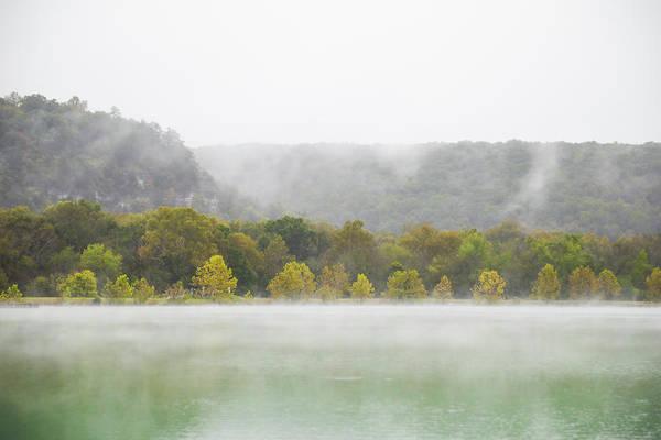 Wall Art - Photograph - Misty Morning At Lake by Hyuntae Kim