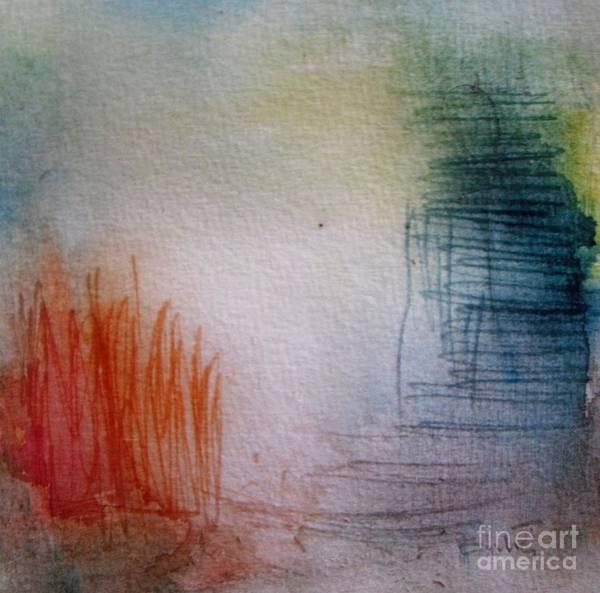Wall Art - Painting - Misty Morning by Vesna Antic