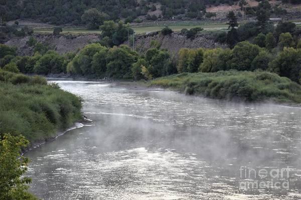 Photograph - Misty River I by Tammie J Jordan