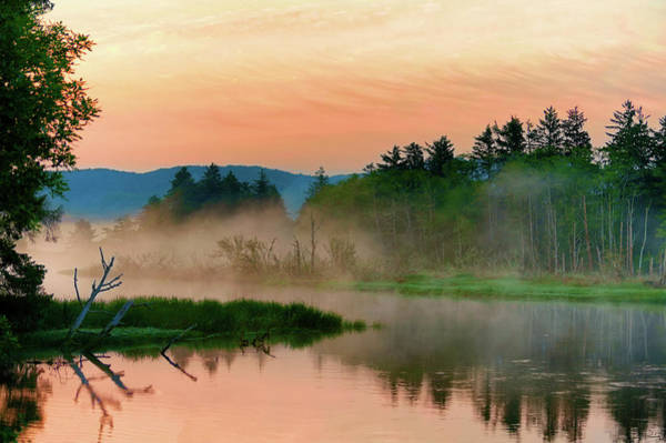 Photograph - Misty Sunrise by Dee Browning