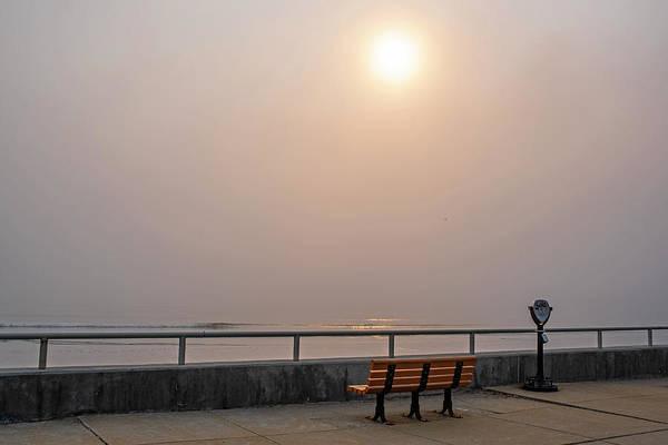 Wall Art - Photograph - Misty Sunrise Over Nantasket Beach Hull Massachusetts by Toby McGuire