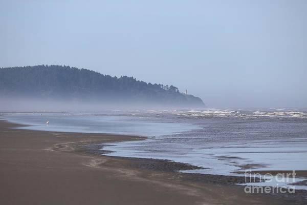 Photograph - Misty Washington Beach by Carol Groenen