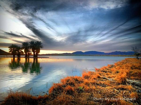 Photograph - Mittry Lake 002 by Guy Hoffman