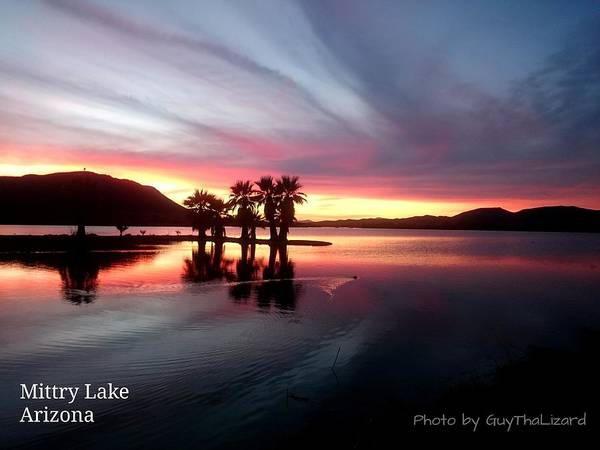 Photograph - Mittry Lake 005 by Guy Hoffman