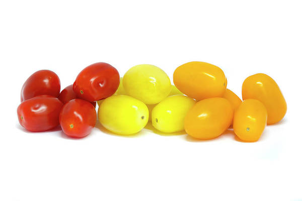 Photograph - Mixed Grape Tomatoes  by Fabrizio Troiani