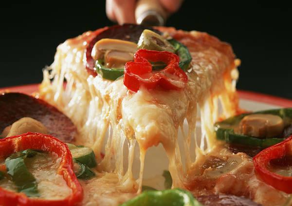 Wall Art - Photograph - Mixed Pizza by Imagenavi