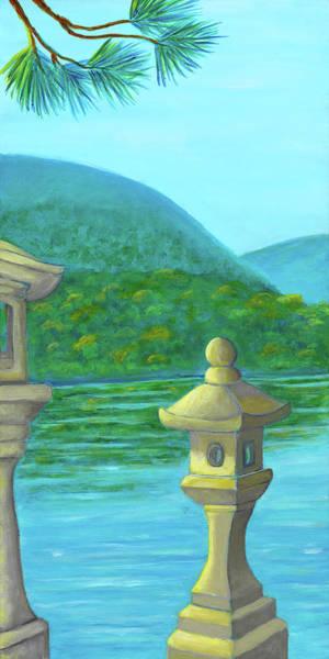 Wall Art - Painting - Miyajima Island 1 by Laura Zoellner