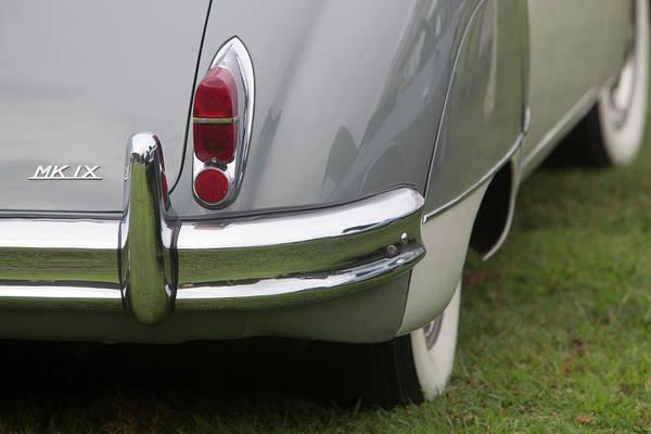 Photograph - Mk Ix Jaguar Classic by Susan Candelario