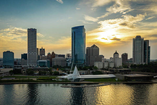 Photograph - Mke Skyline Updated by James Meyer