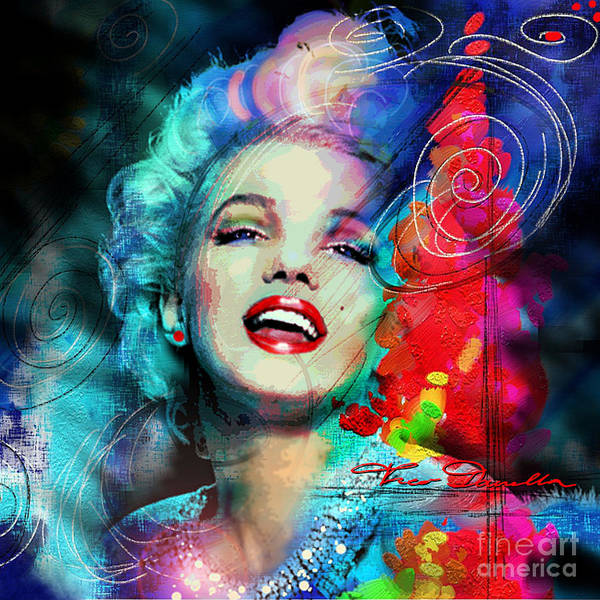 Digital Art - Mm Glamour by Theo Danella