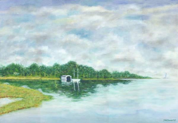 Painting - Mobjack Bay by Stan Sweeney