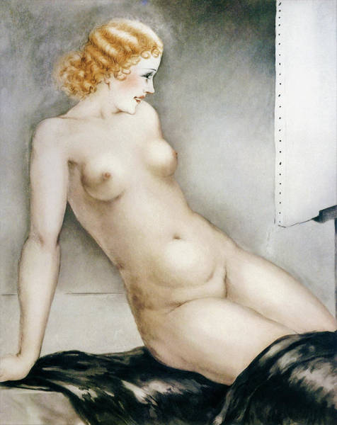Wall Art - Painting - model 1 - Digital Remastered Edition by Louis Icart