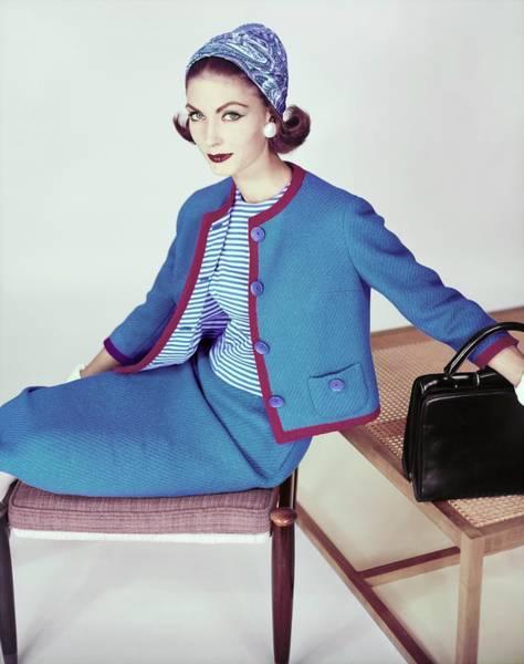 Photograph - Model In B. Altman & Co by Henry Clarke