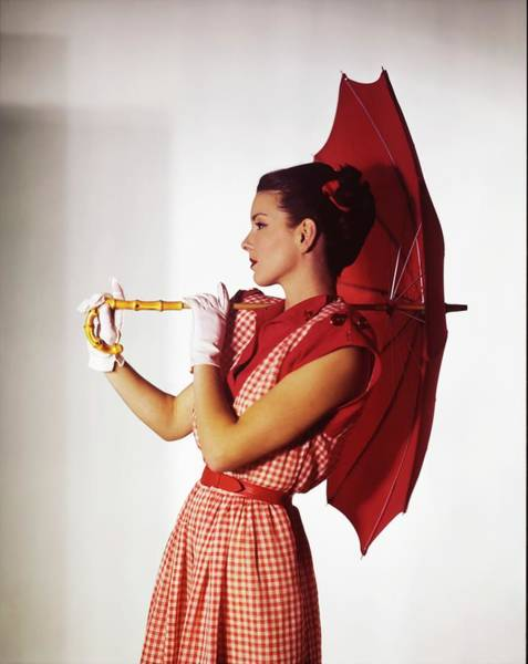 Photograph - Model In Peck & Peck by Horst P. Horst