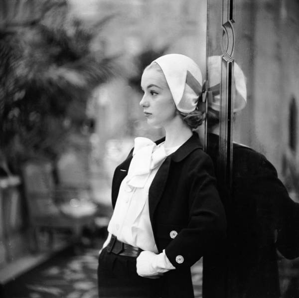 Photograph - Model In Suit by Gordon Parks
