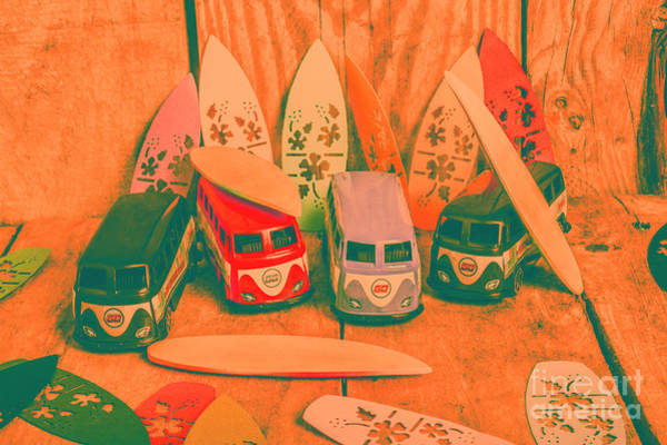 Volkswagen Wall Art - Photograph - Modelling A Surfing Vacation by Jorgo Photography - Wall Art Gallery
