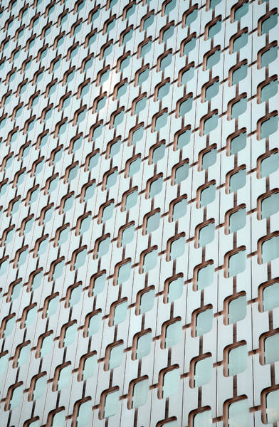 Repetition Photograph - Modern Architecture by Carlo A
