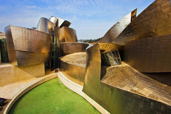 Bilbao Photograph - Modern Architecture In Bilbao by Gonzalo Azumendi