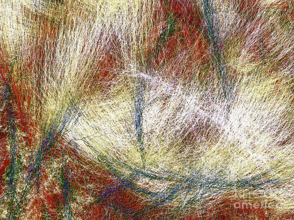 Wall Art - Digital Art - Modern Art  .abstract  3  Energy  Flows by Elaine Manley