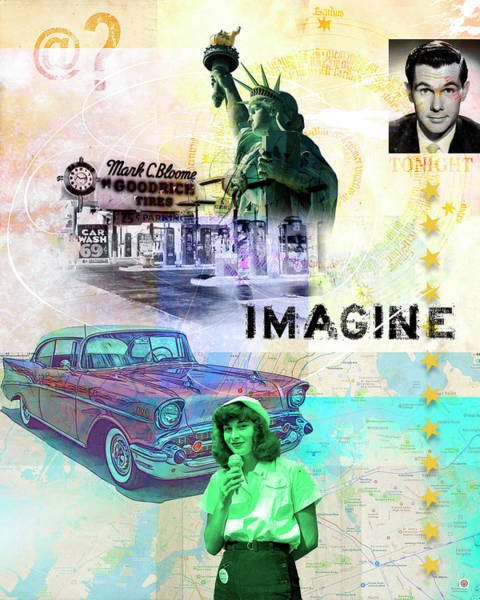 Digital Art - Imagine by Gary Grayson
