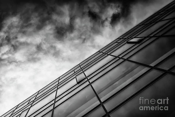 Wall Art - Photograph - Modern Detail In Black And White by Antony McAulay
