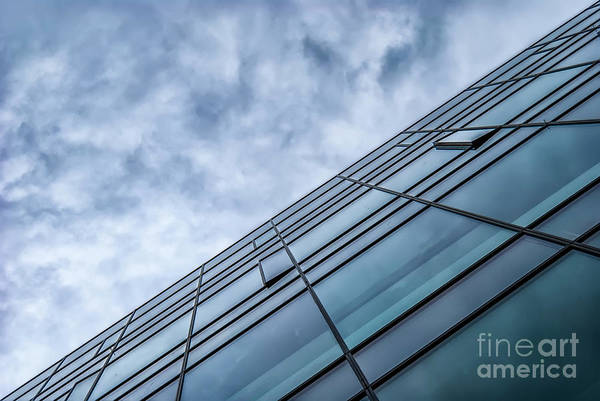 Wall Art - Photograph - Modern Detail In Blue by Antony McAulay