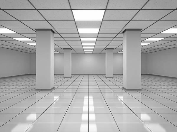 Wall Art - Photograph - Modern Empty Room by Imaginima