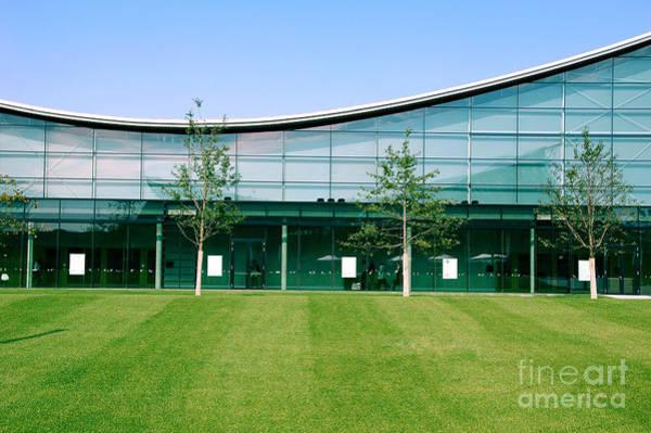 Exterior Wall Art - Photograph - Modern Industrial Building by Blaz Kure