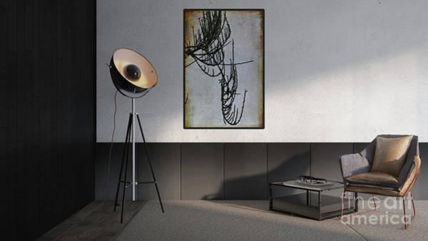 Digital Art - Modern Interior Design by Liz Alderdice
