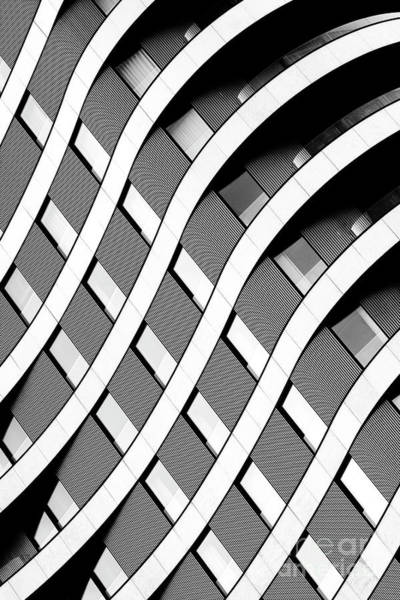 Riverwalk Photograph - Modern Curved Lines by Tim Gainey
