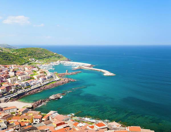 Sardinia Photograph - Modern Part Of Castelsardo Coast by Spooh