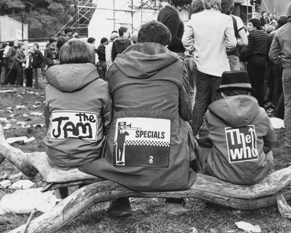 British Culture Photograph - Mods At Loch Lomond by Paul Popper/popperfoto
