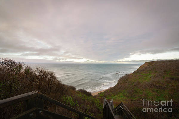 Photograph - Mohegan Bluffs  by Michael Ver Sprill