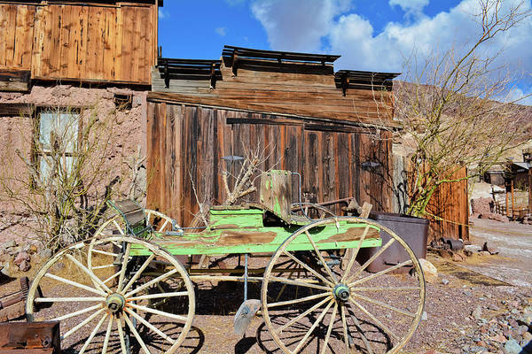 Photograph - Mojave Desert Calico Ghost Town by Kyle Hanson