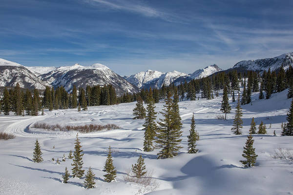 Wall Art - Photograph - Molas Pass Winter Landscape by Bridget Calip