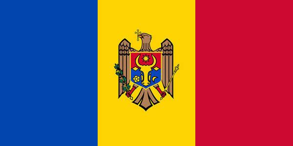Moldova Wall Art - Painting - Moldova by Flags