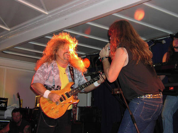 Wall Art - Photograph - Molly Hatchet's Bobby And Phil by Mike Martin