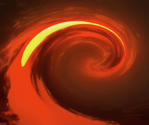 Painting - Molten Lava Wave by Dan Sproul
