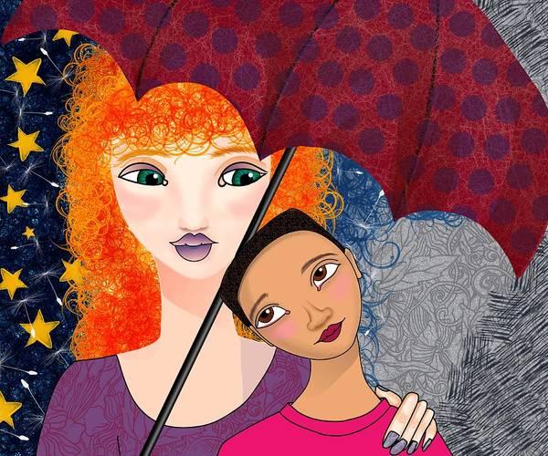 Digital Art - Momma Is Here by Lisa Schwaberow